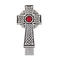 Celtic Cross With Stone Letter Opener