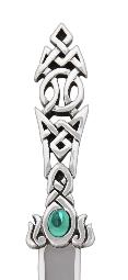 Celtic Knot With Stone Letter Opener