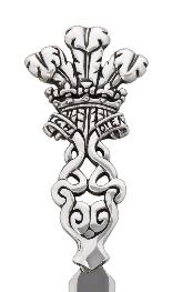 Prince of Wales Feathers Letter Opener