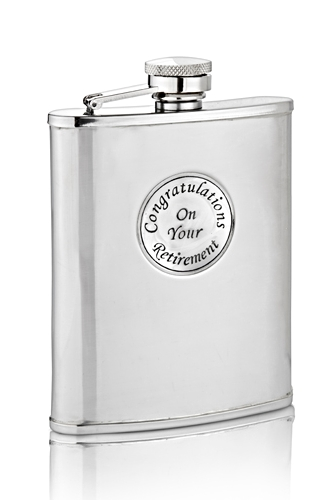 Retirement Hip Flask