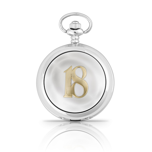 18th Two Tone Mechanical Pocket Watch