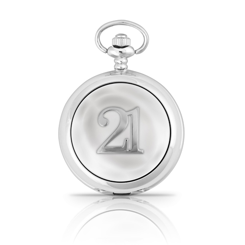 21st Birthday Mechanical Pocket Watch