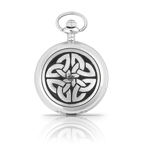 4 Triag Knot Mechanical Pocket Watch