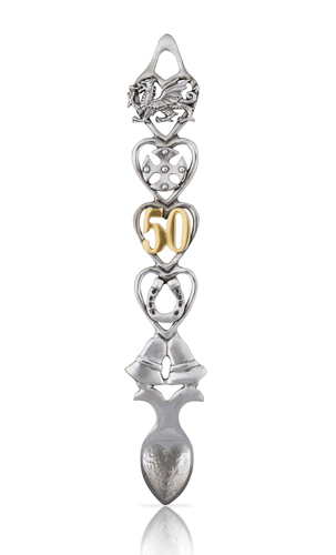50 Year Anniversary Lovespoon