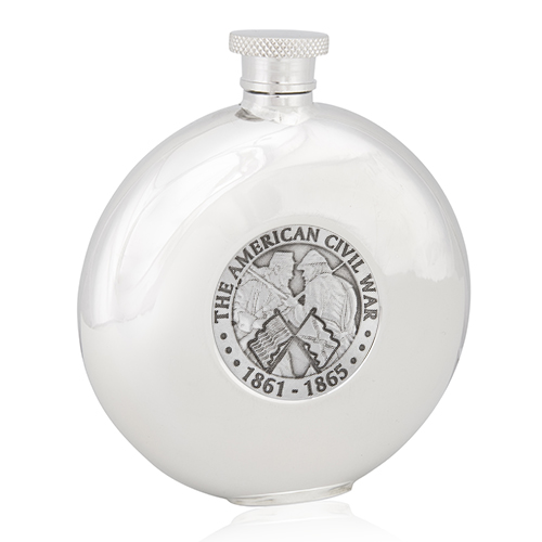 American Civil War Round Flask