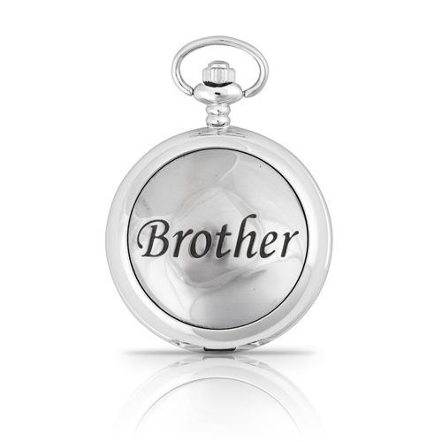 Brother Mechanical Pocket Watch