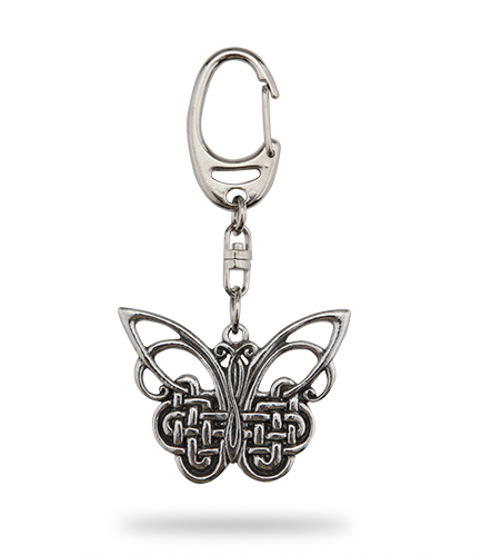 Celtic Butterfly Keyring