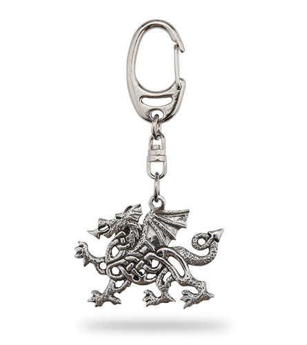 Celtic Dragon Keyring