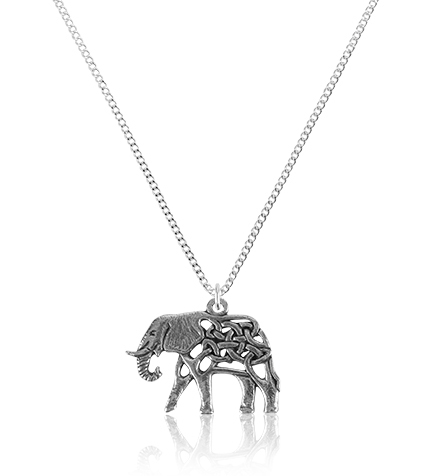Celtic Elephant Pendant