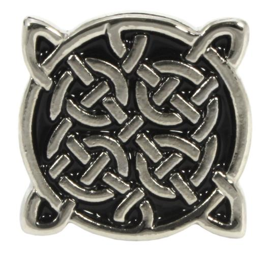 Celtic Knot Cufflinks Antique Silver