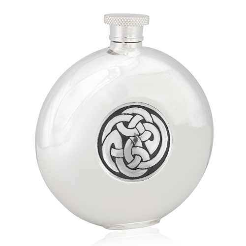 Celtic Knot Round Flask