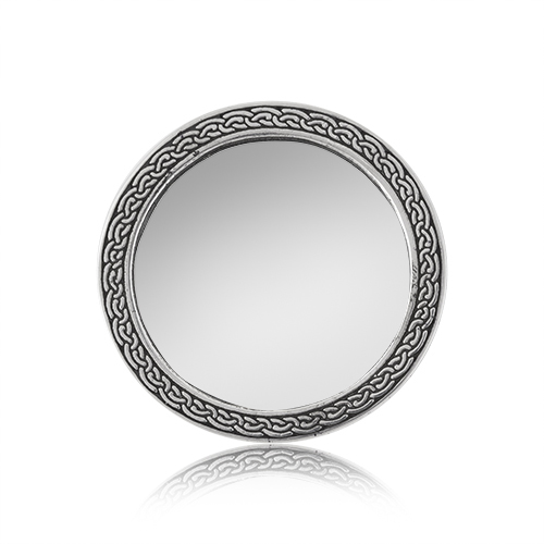 Celtic Rim Purse Mirror