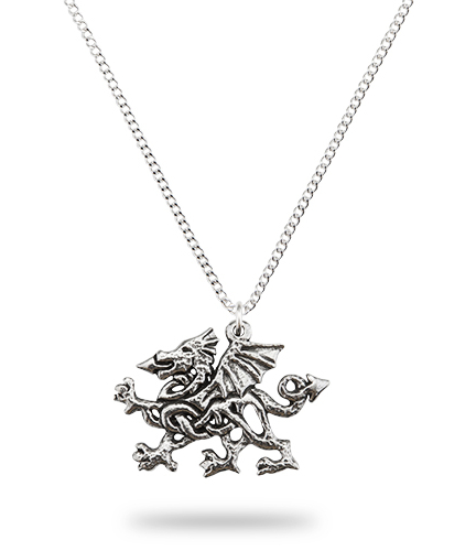 Celtic Welsh Dragon Pendant