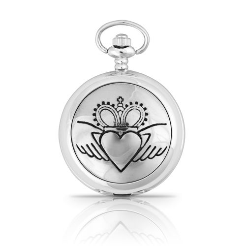 Claddagh Mechanical Pocket Watch