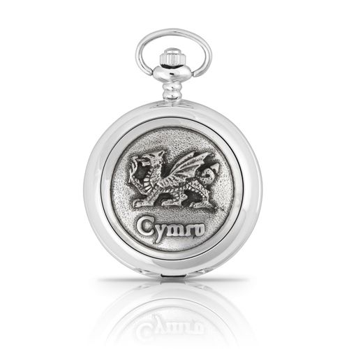 Cymru Mechanical Pocket Watch