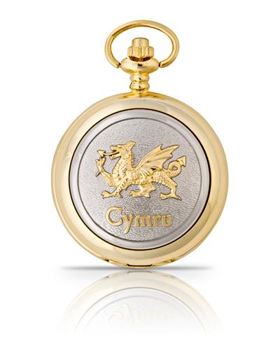 Cymru Pocket Watch Gold