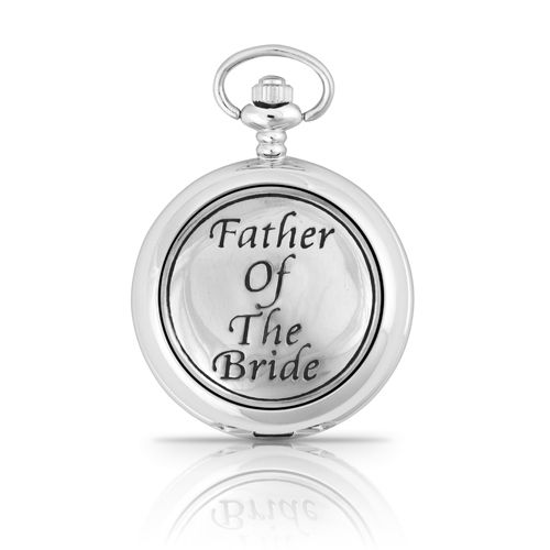 Father Of The Bride Mechanical Pocket Watch