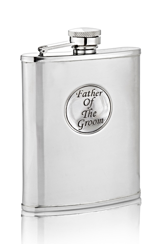 Father Of The Groom Hip Flask