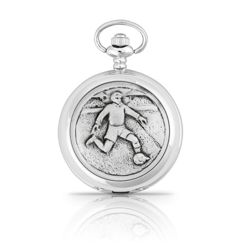 Football Mechanical Pocket Watch