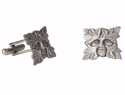 Greenman Pewter Cufflinks