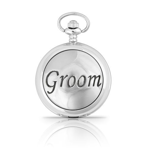 Groom Mechanical Pocket Watch