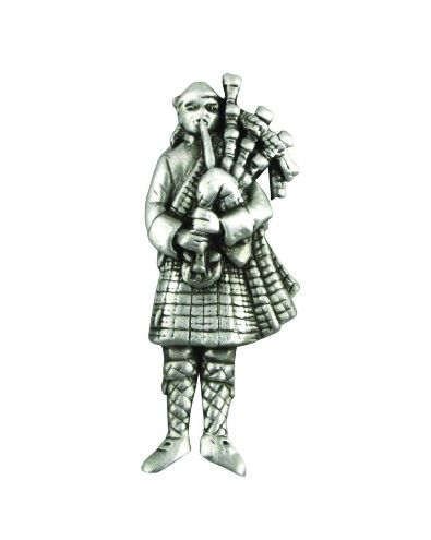 Highland Piper Pin