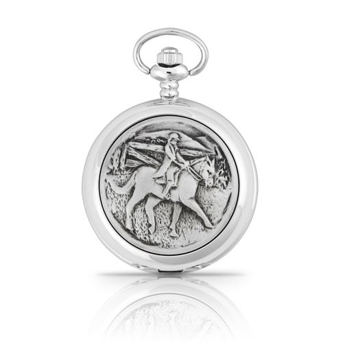 Horse and Rider Pocket Watch