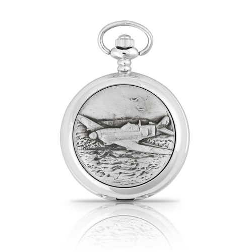 Hurricane Fighter Mechanical Pocket Watch