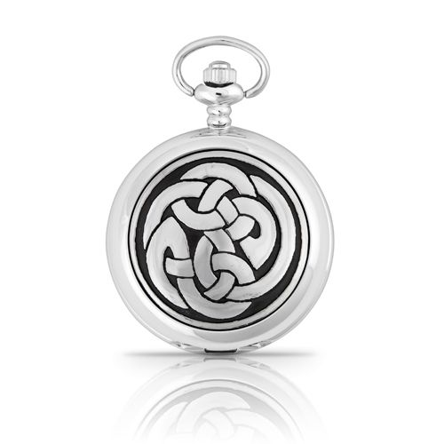 Lugh's Knot Mechanical Pocket Watch