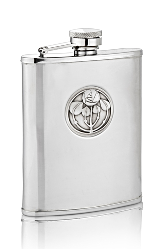 Mackintosh 5 Bud Hip Flask