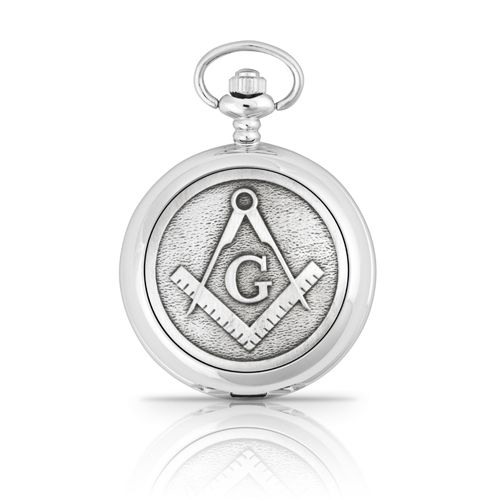 Masonic G Mechanical Pocket Watch