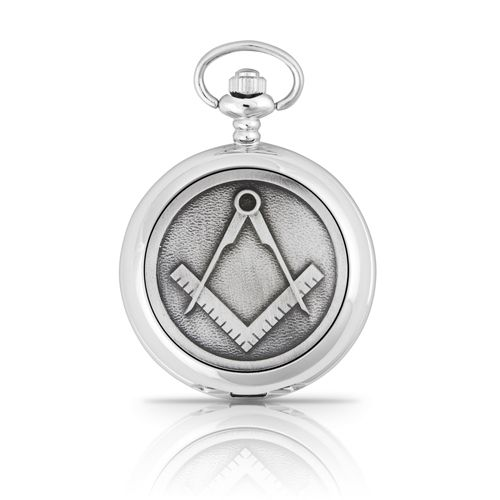 Masonic Mechanical Pocket Watch