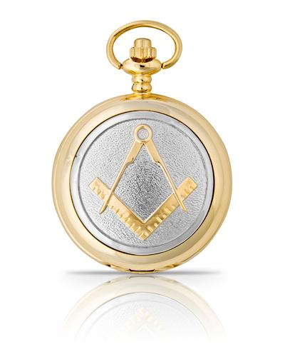 Masonic Pocket Watch Gold