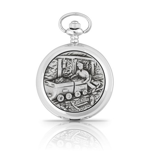 Miner Mechanical Pocket Watch