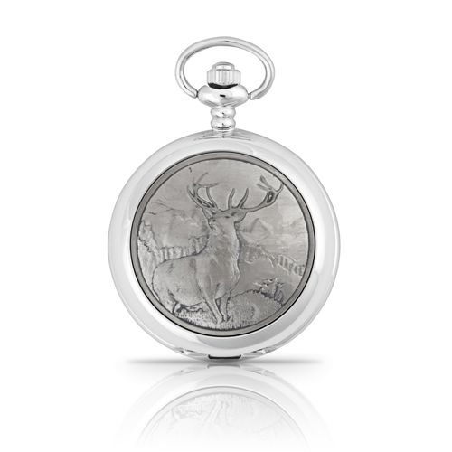 Monarch Of The Glen Mechanical Pocket Watch