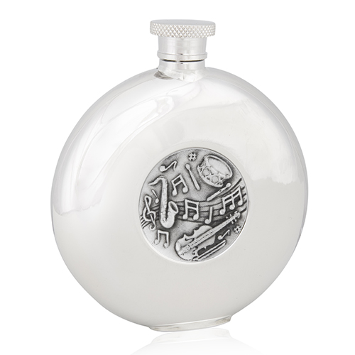 Musical Round Flask