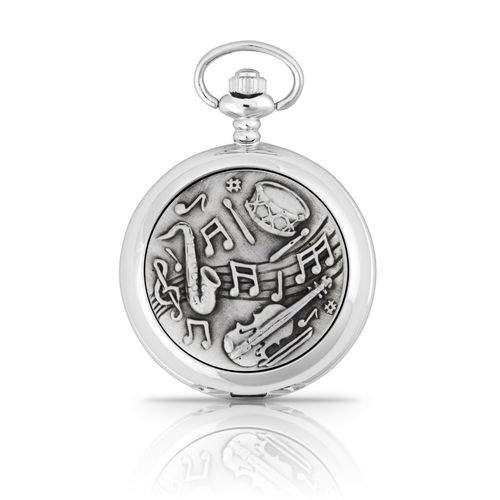 Musical Theme Mechanical Pocket Watch