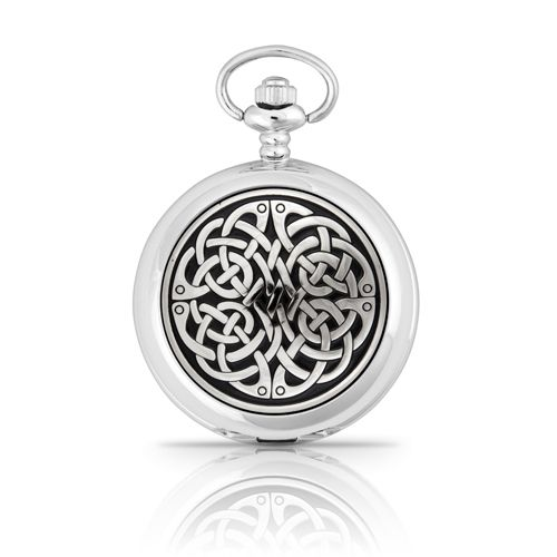 Never ending Knot Mechanical Pocket Watch