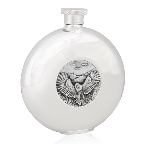 Owl Round Flask