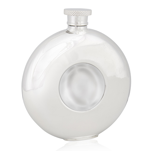 Plain Fronted Round Flasks