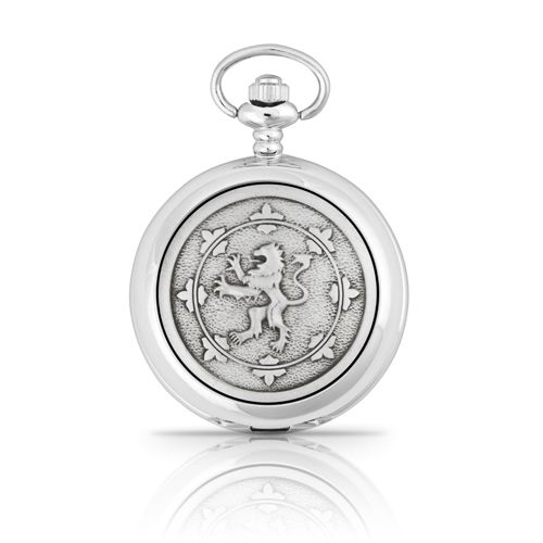 Rampant Lion Mechanical Pocket Watch