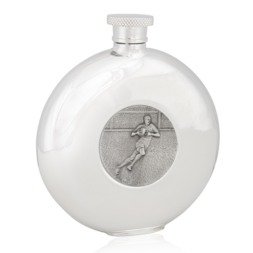 Rugby Round Flask