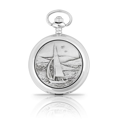 Sailing Mechanical Pocket Watch