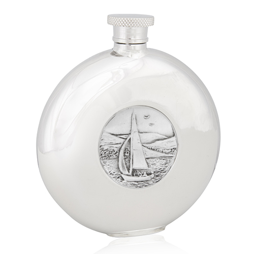 Sailing Round Flask