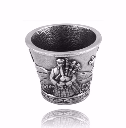 Scottish Piper Dram Cup