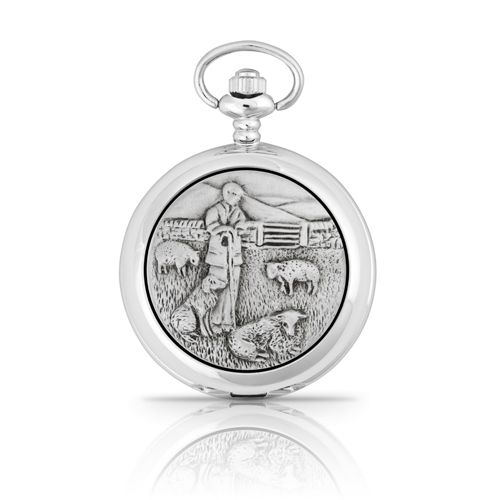 Shepherd Mechanical Pocket Watch