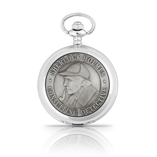 Sherlock Holmes Mechanical Pocket Watch