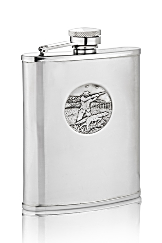 Sporting Shoot Hip Flask
