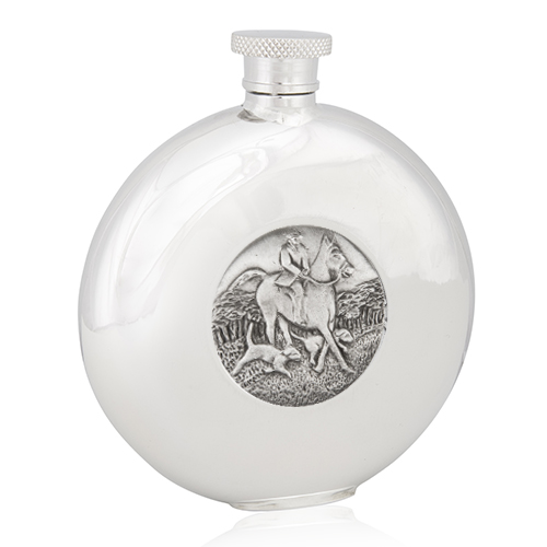 The Hunt Round Flask