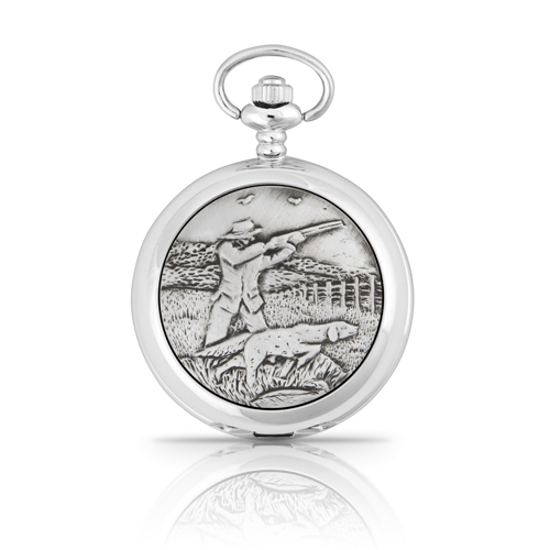 The Sporting Shoot Mechanical Pocket Watch